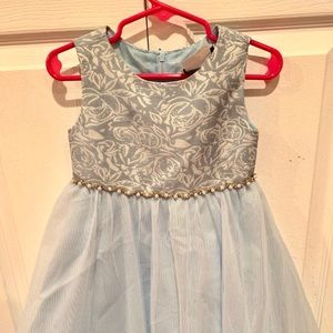 Light Blue Festive Dress